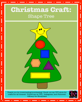 Christmas Craft: Shape Tree