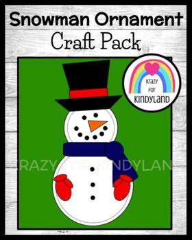 Snowman Ornament Craft (Christmas)