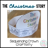 Christmas Craft {The Christmas Story Sequencing Crown}