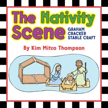 Christmas Craft: The Nativity Scene Graham Cracker Stable