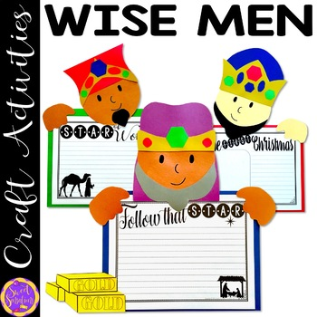 Wise Men or Three Kings Christmas Craft