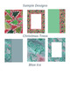 Christmas Craft and Scrapbook Digital Pages Folk Shabby Tr