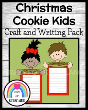 Christmas Craft and Writing: Cookie Kids and Thank You Letter to Santa