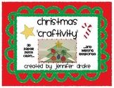 Christmas 'Craftivity'  ~3D Paper Plate Craft & Writing Response~