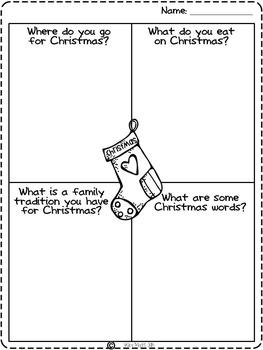 Christmas Craftivity { I'm waiting for Santa }