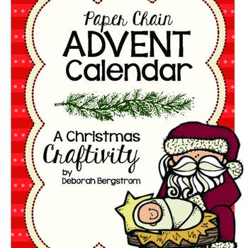 Christmas Craftivity: Paper Chain Advent Calendar