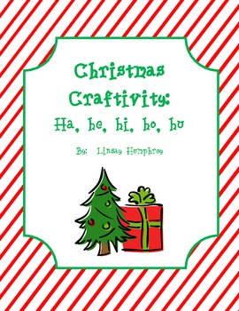 Christmas Craftivity:  Syllables with H {Spanish}