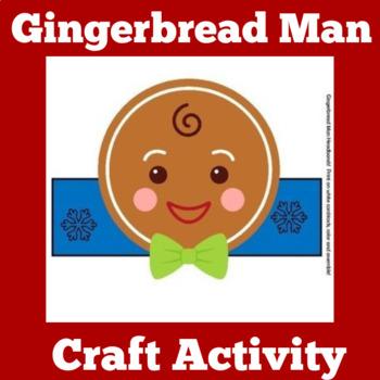 Gingerbread Man Activity | Gingerbread Man Craft | Gingerbread Man Craftivity