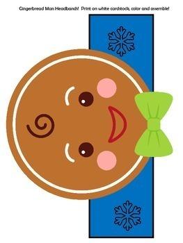 Gingerbread Man Craft | Gingerbread Man Activity | Gingerbread Man Kindergarten
