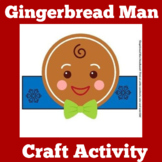 Gingerbread Man Craft Activity