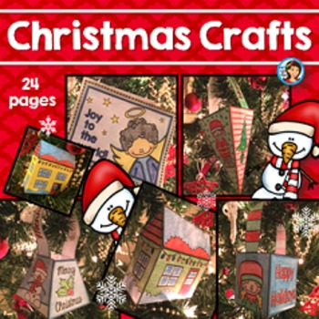 Christmas Crafts Boxes, 3D Houses, and Cards