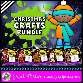 December Activities (Christmas Craftivities BUNDLE)