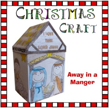 Christmas Crafts - Away in a Manger