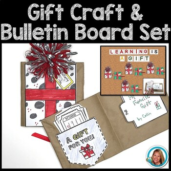 Christmas Gifts for Parents   Crafts   Bulletin Board Set