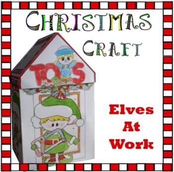 Christmas Crafts - Elves at Work