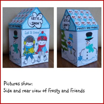 Christmas Crafts - Frosty & Friends