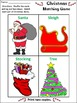Christmas Craft Activities: Christmas Crafts & Games Activity Packet