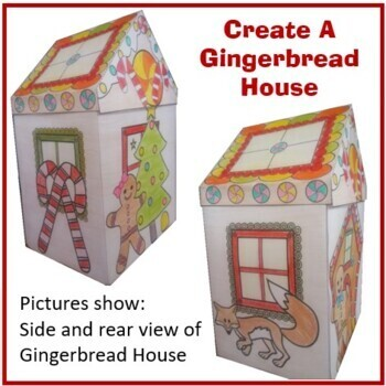 Christmas Crafts - Gingerbread House