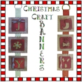 Christmas Crafts - JOY Hanging Banners