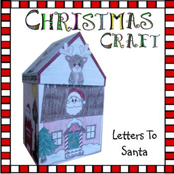 Christmas Crafts - Letters to Santa
