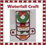Christmas Crafts - Merry Christmas Waterfall Craftivity