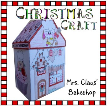 Christmas Crafts - Mrs. Claus' Bakeshop