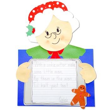 Christmas Crafts: Reindeer; Santa; Mrs. Claus; Elf