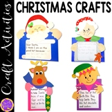Christmas Crafts: Reindeer; Santa; Mrs. Claus; Elf