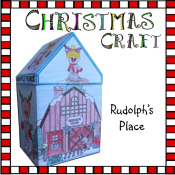 Christmas Crafts - Rudolph's Place