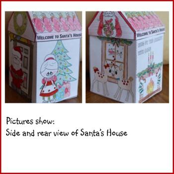 Christmas Crafts - Santa's House