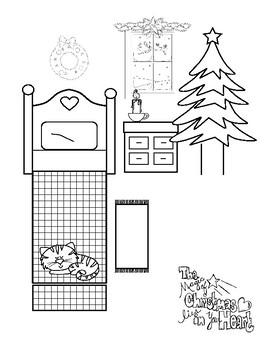 Christmas Crafts - The Magic of Christmas POP-UP (Freebie)