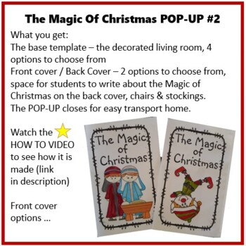 Christmas Crafts - The Magic of Christmas POP-UP II