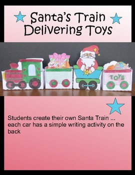 Christmas Crafts - Toy Train