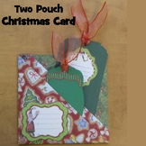 Christmas Crafts - Two Pouch Christmas Card