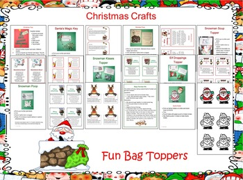 Christmas Crafts and Bag Toppers