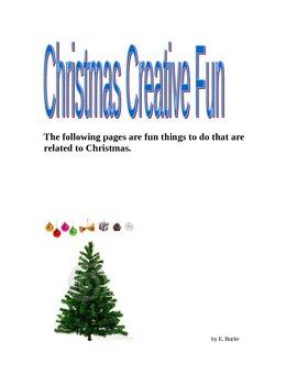 Christmas Creative Fun