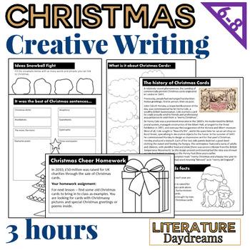Christmas Creative Writing (3 Lesson Bundle)