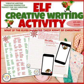Christmas-Creative Writing Activity-Those Naughty Elves!