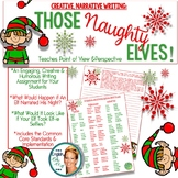 Christmas-Creative Writing Activity-Those Naughty Elves!