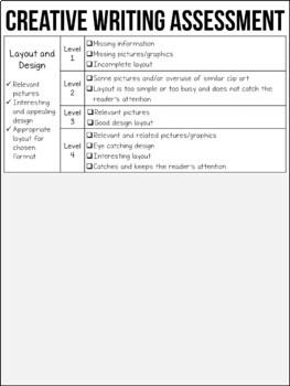 Creative writing homework