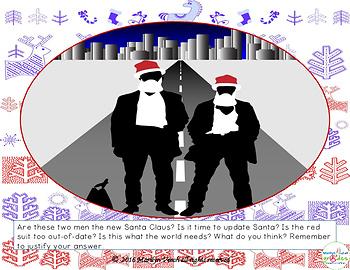 Christmas Creative Writing Fill-er-in-er-er - Set 2
