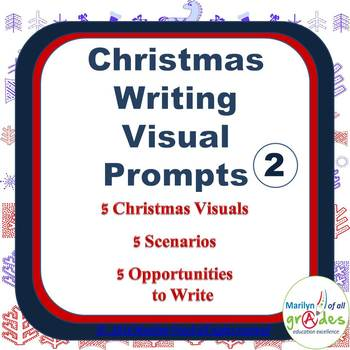 Christmas Creative Writing Prompts - Sub Tubs - Fill-er-in-er-er - Set 2