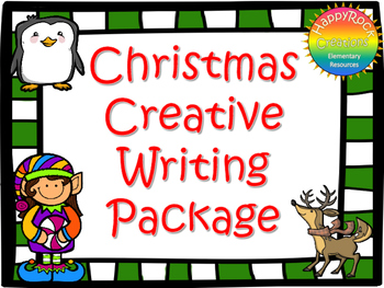 Christmas Creative Writing Package