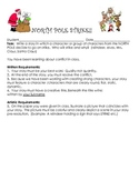 Christmas Creative Writing Packet- North Pole On Strike