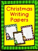 Christmas Creative Writing Paper