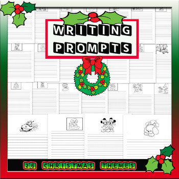 Christmas Creative Writing Prompts (26 picture prompts)