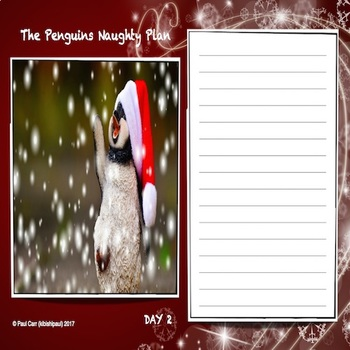 Christmas Creative Writing: Santa Claus and the Penguin Caper