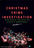 Christmas Crime Investigation BUNDLE - Literacy and Numera