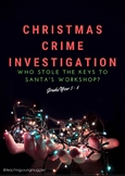 Christmas Crime Investigation - Literacy and Numeracy Prob