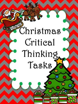 Christmas Critical Thinking Activities